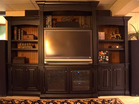 Handmade Entertainment Units - handmade entertainment center by terry s woodworking