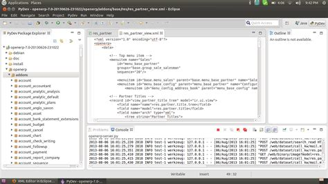 eclipse layout editor java xml editor in eclipse kepler is not displayed with color