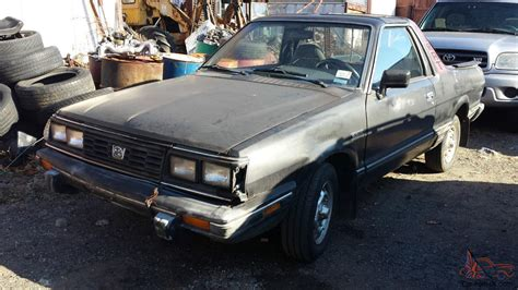 1985 subaru brat for sale 1985 subaru brat gl standard cab pickup 2 door 1 8l