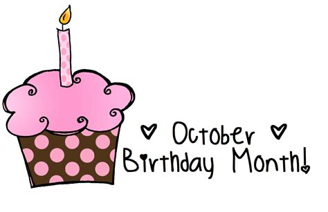 October Birthday Month Clip Art | october brithday month day 1 laurierobyn october