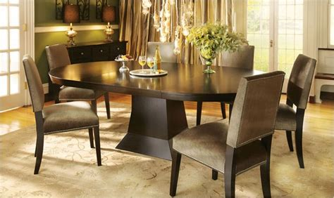 arhaus dining room tables love the mocha colored table dining spaces pinterest
