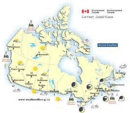 weather map of canada canadian weather forecasts cka
