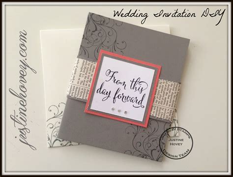 Simple Handmade Wedding Invitations - easy diy handmade wedding invitations how to