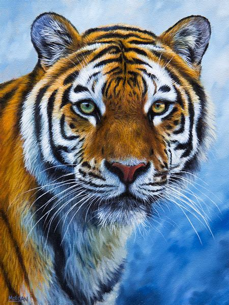 tiger painting for sale how to draw and paint animals wildlife pastel pencil and