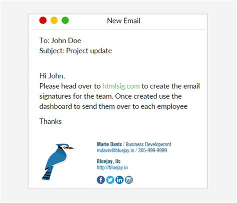 31 Best Email Signature Generator Tools Online Makers Free Premium Templates Html Email Signature Template