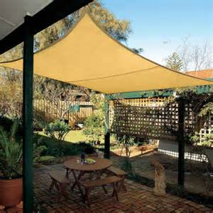 coolaroo awnings coolaroo square shade sail with accessories 17 9