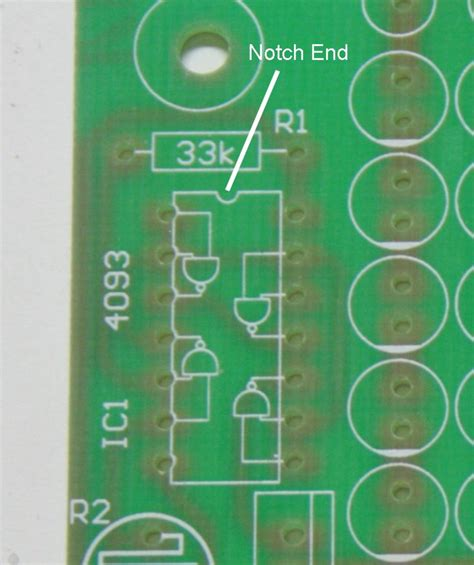capacitor polarity markings on board how to assemble your own 140 led infrared light source part 2