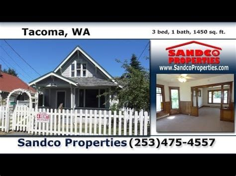 3 bedroom houses for rent in tacoma wa video tour 3 bedroom victorian for rent in tacoma wa sandco properties youtube
