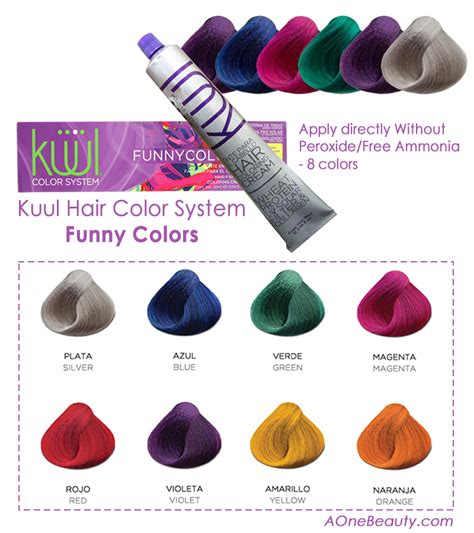 funny colors sale kuul hair color system funny colors apply