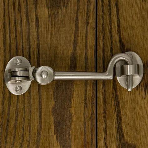 Door Hook solid brass cabin door hook latch door latches and hasps