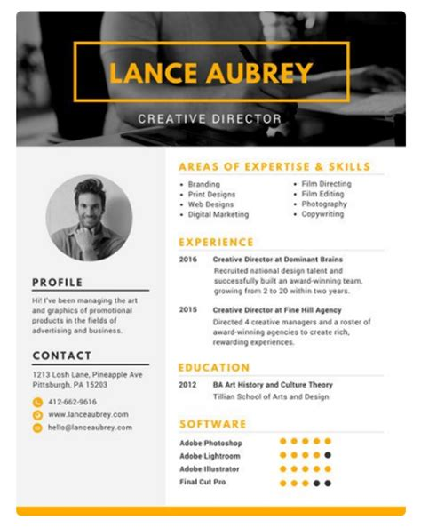 Resume Builder Canva How To Make Your Resume Make Me Eb