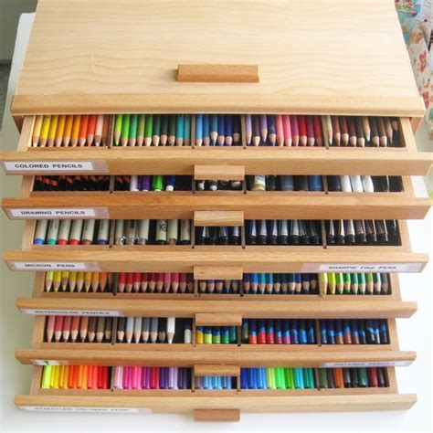 colored pencil storage best 25 colored pencil storage ideas on