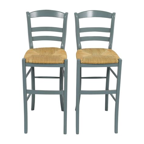 Tibetan Bar Stools Unfinished by Pottery Barn Bar Stools In 63 Wood Chairs