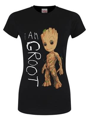 guardians of the galaxy i am groot black t shirt