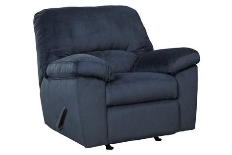 white rocker recliner midnight microfiber rocker recliner at gardner white