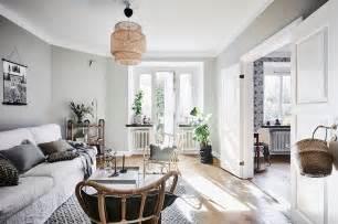 scandinavian style living room scandinavian style and bold wallpaper in bedroom
