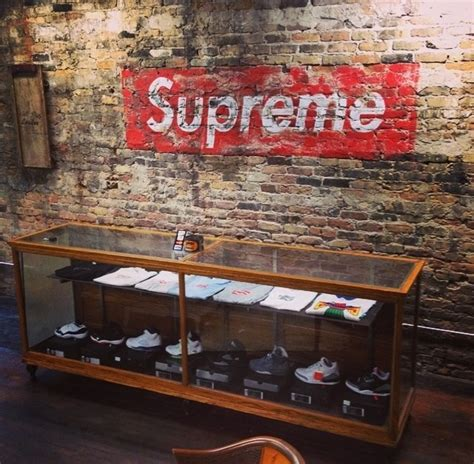 supreme europe store apothecary chicago the shop to carry supreme in