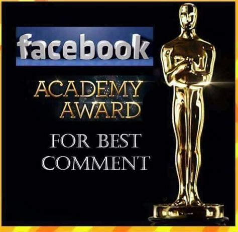 How To Post Memes In Comments On Facebook - academy award humor pinterest humor