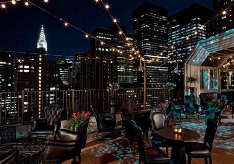 roof top bar manhattan the kimberly hotel manhattan luxury pad