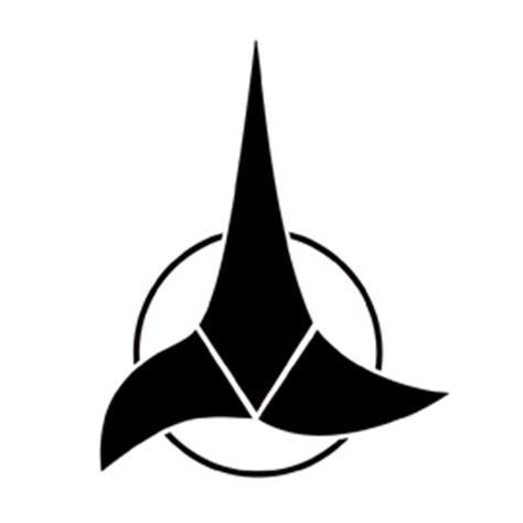 printable star trek badge star trek klingon insignia stencil free stencil gallery