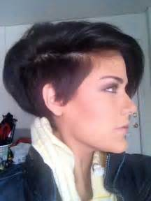 wedge one side longer hair 40 long pixie hairstyles the best short hairstyles for