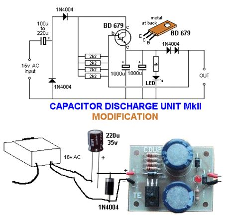 build capacitor discharge unit how to make capacitor discharge unit 28 images hattons co uk peco products pl 35 capacitor
