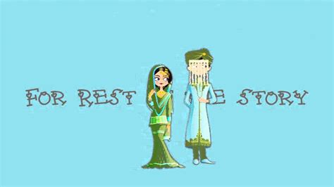 Animation Wedding by Muslim Animated Wedding Invitation Indian Muslim