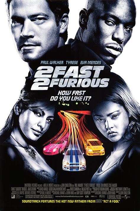 film fast and furious 2 2 fast 2 furious movie posters at movie poster warehouse