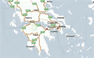 corinth map corinth greece location guide