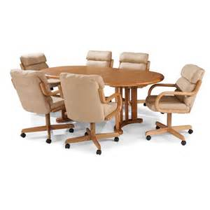 5pc Casual Dining Table And Chairs Set In Brown Walnut Finish And Craft Ind 5 Pc Douglas Casual Living Margo