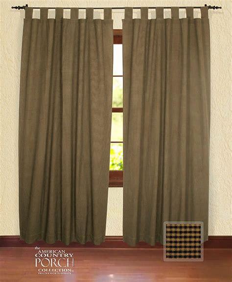 dye curtains black new england black tea dyed mini check tab top window
