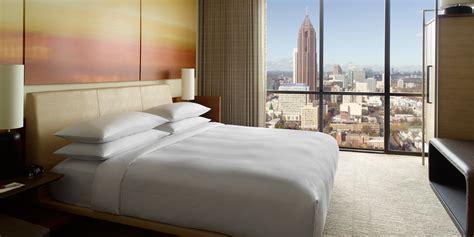 atlanta hotel rooms atlanta marriott marquis unveils redesigned marriott transformation marriott news center
