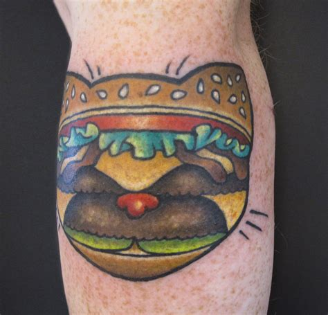 damask tattoo cat burger tattooed by kendal at damask in seattle