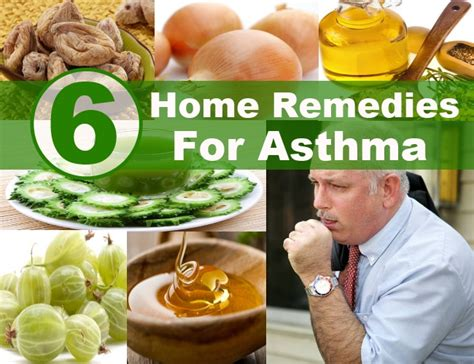 effective home remedies for asthma diy health remedy