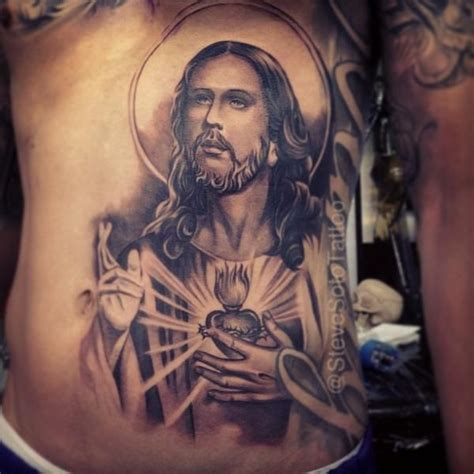 steve soto tattoo by steve soto belly tattoos jesus and tattoos