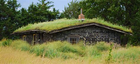 House On The Prarie by Sod House