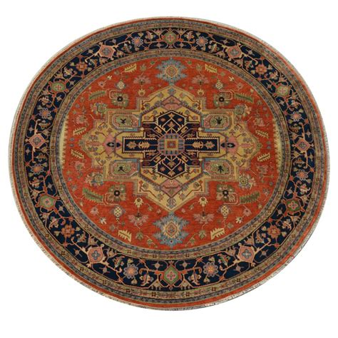 10 x 11 rug size 11 10 quot x 11 11 quot heriz wool rug from india
