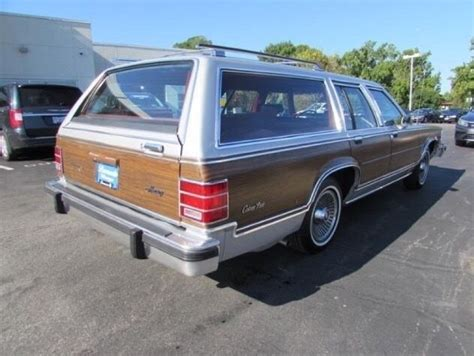 how does cars work 1985 mercury lynx instrument cluster 1985 mercury grand marquis colony park station wagon for sale mercury grand marquis 1985 for