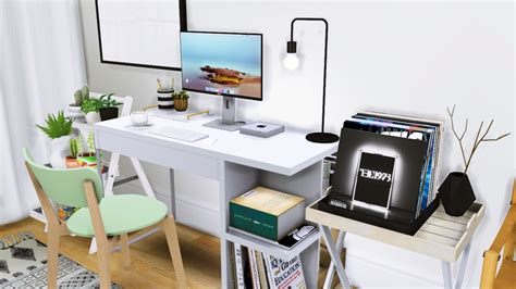 office clutter sims 4 cc my sims 4 blog office furniture clutter and music decor