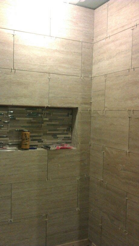 12x24 tile shower 12x24 horizontal tile brick pattern shower work