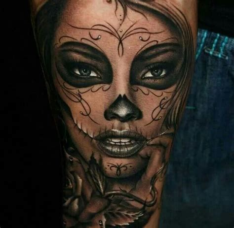 25 gorgeous sugar skull sleeve ideas on pinterest half