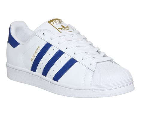 adidas superstar white and blue aoriginal co uk