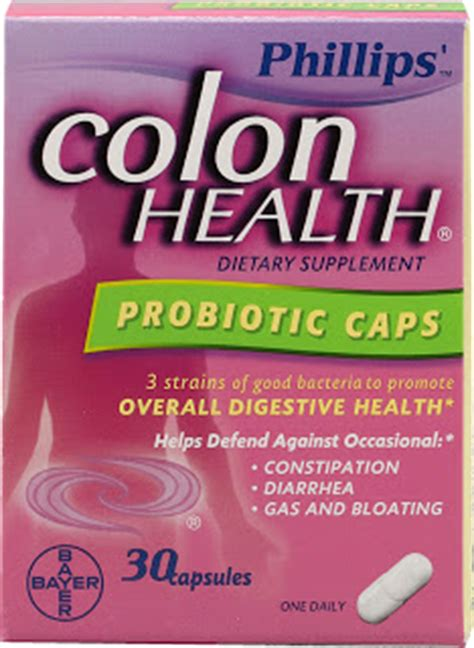 Probiotic Detox Side Effects by Best Colon Cleanse Phillips Colon Health Uses Side