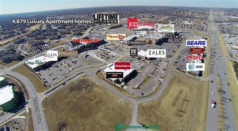 Plan Apartment aerial map corbin park retail village in overland park ks