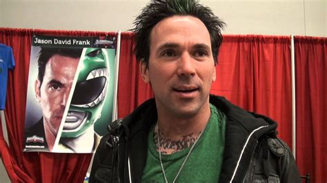 power ranger jason david frank at montreal comiccon