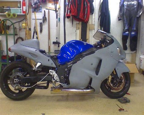 stock 2007 suzuki hayabusa 1 8 mile drag racing timeslip 0