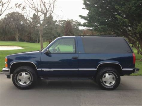1999 2 Door Tahoe by Buy Used 1999 Chevrolet Tahoe Lt 4wd 2 Door Excellent