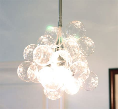 Easy To Make Glass Ball Chandelier Easy Diy Chandelier