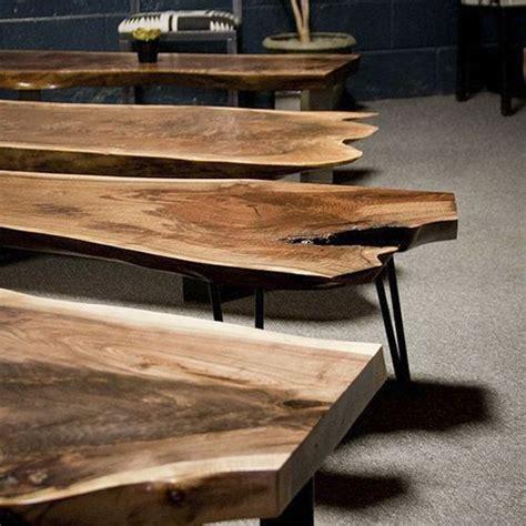 mesa de tronco mesa rustica  forma de tronco mesa de