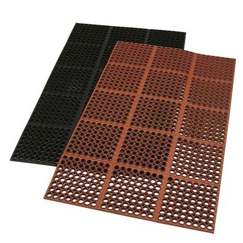 10 x 10 ft plastic kennel floor quot dura chef 7 8 inch quot anti fatigue kitchen mats